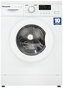 Panasonic 6 kg Fully Automatic Front Load Washing Machine (NA-106MC2W01, White)