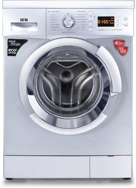 IFB 6.5 kg Fully Automatic Front Load Washing Machine (SENORITA AQUA SX, Silver)