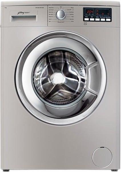 Godrej 6 kg Fully Automatic Front Load Washing Machine (WF EON 6010 PAEC, Silver)