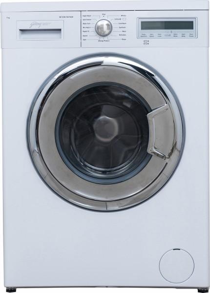 Godrej 7 kg Fully Automatic Front Load Washing Machine (WF EON 700 PASE, White)