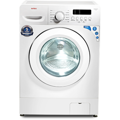 Intex 6 kg Fully Automatic Front Load Washing Machine (WMFF60SD, White)