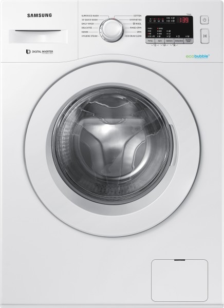 Samsung 6 kg Fully Automatic Front Load Washing Machine (WW61R20EKMW/TL, White)
