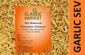 Classic Harvest Garlic Sev Namkeen (200GM)