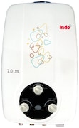 Indo 7L Gas Water Geysers (1.2 INSE, White)