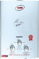 Powerjet 6L Gas Water Geyser (ADH, White)