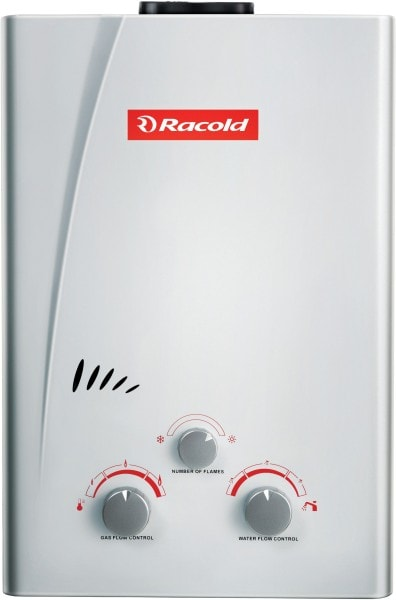 Racold 6L Gas Water Geyser (ECO NG, White)
