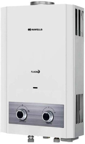 Havells 6L Gas Water Geyser (Flagro, White)