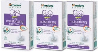 Himalaya Gentle Baby Soap (125GM, Pack of 3)