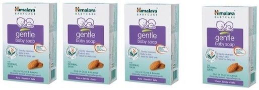 Himalaya Gentle Baby Soap (300GM, Pack of 4)