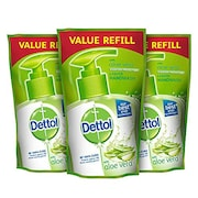 Dettol Germ Protection Aloe Hand Wash Refill (175ML, Pack of 3)