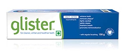 Amway Glister Herbal Toothpaste (190GM)