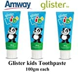 Amway Glister Kids Toothpaste (100GM, Pack of 3)
