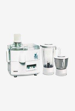Inalsa Gloria 450W Juicer Mixer Grinder (White, 2 Jar)