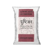 Pushtikar Gluten Free Eggless Multigrain Premix Flour (Chocolate Cookies, 300GM)