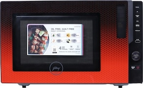 Godrej GME 730 CP1 QM 30 L Convection & Grill Microwave Oven (Black & Red)