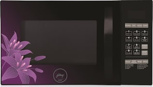 Godrej GME 734 CR1 PM 34 L Convection & Grill Microwave Oven (Black)