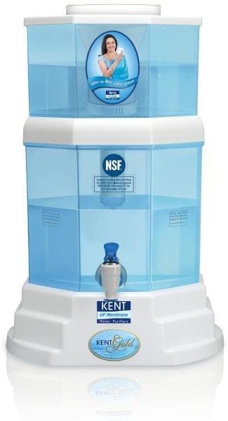Kent Gold 11014 20L UF Water Purifier (Blue & White)