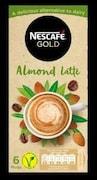 Nescafe Gold Almond Latte Coffee (Almond Latte, 96GM, 6 Pieces)