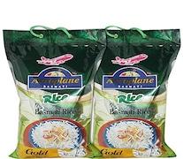 Aeroplane Gold Basmati Rice (5KG, Pack of 2)
