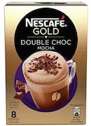 Nescafe Gold Double Choc Mocha Coffee Instant Coffee (148GM, 8 Pieces)