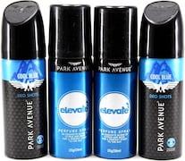 Park Avenue Good Morning Deodorant Body Spray (104GM, Pack of 4)