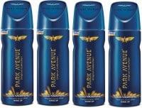 Park Avenue Good Morning Deodorant Body Spray (520ML, Pack of 4)