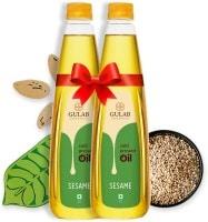 Gulab Oils Goodness Sesame Oil (1LTR, Pack of 2)