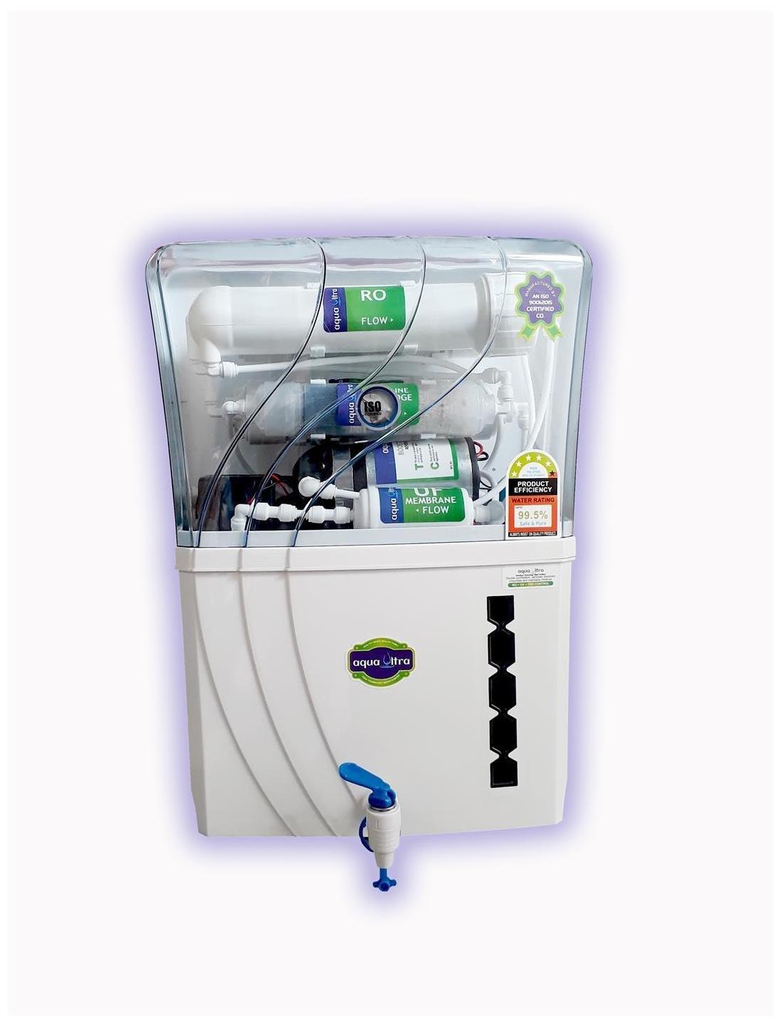 Aqua Ultra Grand 12L RO+UV+UF Water Purifier (White)