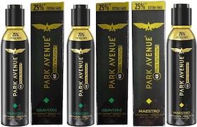 Park Avenue Gravitas + Maestro Perfume (150ML, Pack of 3)