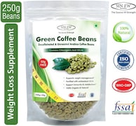 Sinew Nutrition Green Beans Coffee (Green, 200GM)