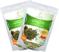Vihado Green Beans Coffee (Green, 100GM, Pack of 2, 1 Pieces)