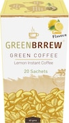 GreenBrrew Green Coffee Lemon Flavour Instant Coffee (60GM)