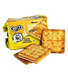 Grey Gone Mad Sugar Cheese Crackers Biscuits (110GM, Pack of 2, 2 Pieces)
