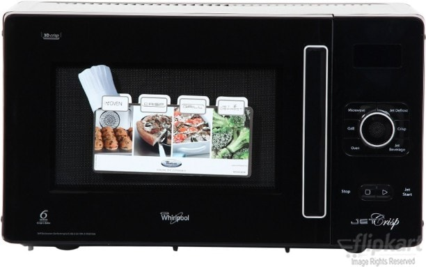 Whirlpool GT-288 25 L Convection Microwave Oven (Black)
