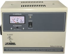 Rahul H-50140 C 5 Voltage Stabilizer (Grey)