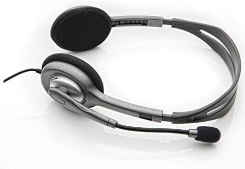 Logitech H111 Wired Headset (Grey)
