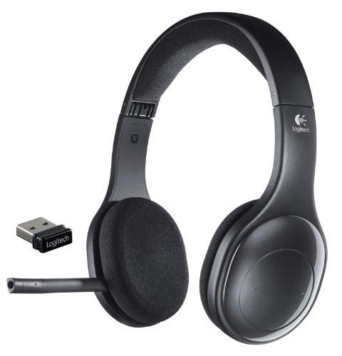 Logitech H800 Wireless Bluetooth Headset (Black)