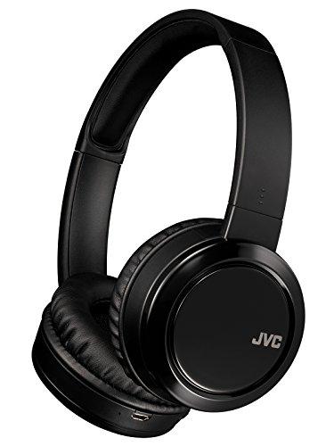 JVC HA-S58 Wireless Bluetooth Headphone (Black)