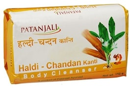 Patanjali Haldi Chandan Kanti Body Cleanser Soap (150GM, Pack of 8)