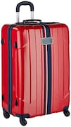 Tommy Hilfiger Hard Sided Suitcase (Red, Medium)