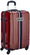 Tommy Hilfiger Hard Sided Suitcase (Orange, Medium)