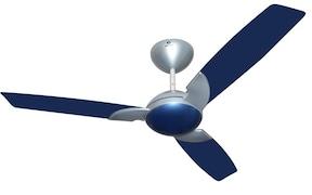 Bajaj Harrier Ceiling Fan (Blue & Silver)