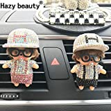 Beauty Panda Hazy Beauty Car Perfumes And Fresheners (Multi-Color, Pack of 2)