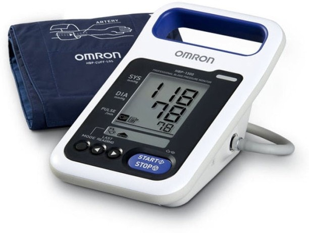 Omron HBP-1300 Bp Monitor (White)