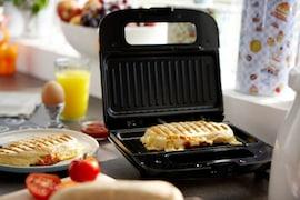 Philips HD2394/00 Grill Sandwich Maker (Black)