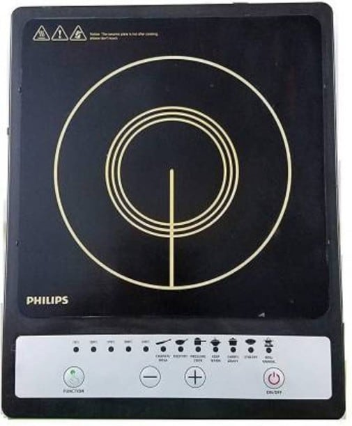 Philips HD4920 1500 W Induction Cooktops (Black)