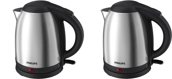 Philips HD9306 1.5 L Electric Kettle (Silver)