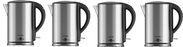 Philips HD9316 1.7 L Electric Kettle (Silver)