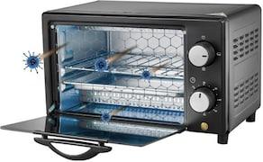 Wonderchef Health-Gear Prato Anti-Viral UVC Oven 9 L Oven Toaster Grill (Black)