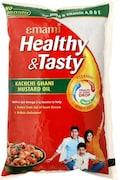 Emami Healthy & Tasty Kachchi Ghani Mustard Oil (1LTR)